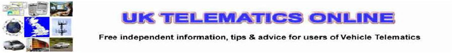 UK Telematics Online - Vehicle Telematics, Vehicle Tracking, Free Information, Tips & Advice